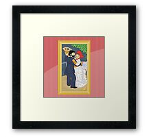 Dance in the country by Renoir Framed Print