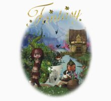 The Fairy Tale Book T-Shirt For All Ages by Moonlake