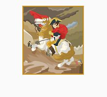 Napoleon Crossing the Alps by  Jacques-Louis David  Unisex T-Shirt