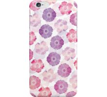 Anemone in Lavender iPhone Case/Skin