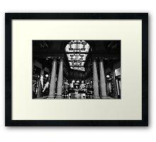 Rome - Alberto Sordi gallery  Framed Print