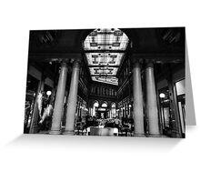 Rome - Alberto Sordi gallery  Greeting Card