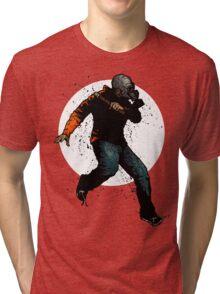 Onward Ever Downwards Tri-blend T-Shirt