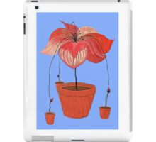 How Potted Plants Reproduce iPad Case/Skin
