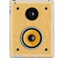 Maple Loudspeaker No Screen iPad Case/Skin