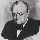 Sir Winston Churchill by Robert David Gellion