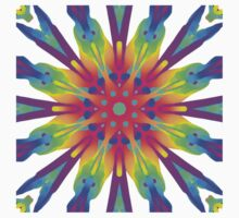 Psychedelic Mandala Kaleidoscope Pattern Kids Clothes