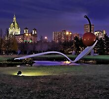 Minneapolis Sculpture Garden-Minneapolis, Mn by hastypudding