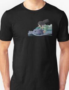 Chihiro meets Falcor Unisex T-Shirt
