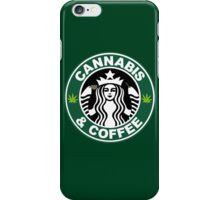 Cannabis and Coffee iPhone Case/Skin