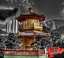 Nam Lian Garden Pagoda - HDR by HKart