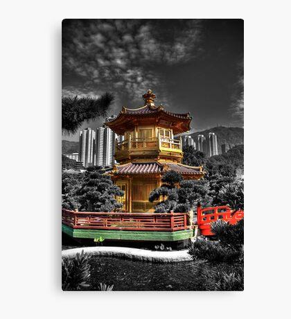 Nam Lian Garden Pagoda - HDR Canvas Print