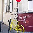 Yellow Bike by GRACE COSTA