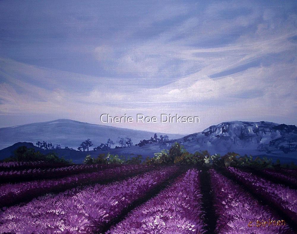 Lavender Field by Cherie Roe Dirksen