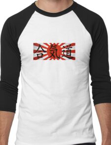 Aikido - Japan Men's Baseball ¾ T-Shirt