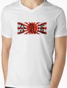 Aikido - Japan Mens V-Neck T-Shirt