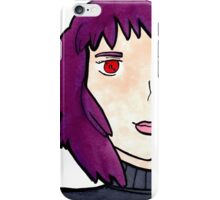 The Major (Motoko Kusanagi) from Ghost in the Shell  iPhone Case/Skin