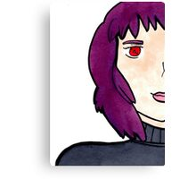 The Major (Motoko Kusanagi) from Ghost in the Shell  Canvas Print