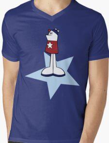 Homestar Runner Mens V-Neck T-Shirt