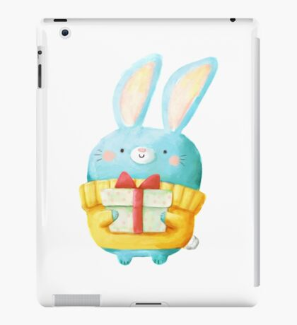 Cute Christmas Bunny iPad Case/Skin