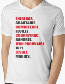 Friends of The ABC Mens V-Neck T-Shirt