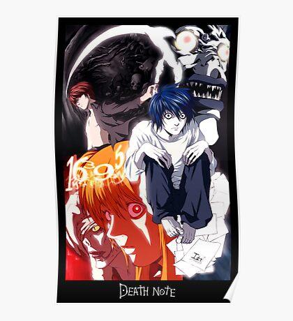 DEATHNOTE-- Teleology of Death Poster