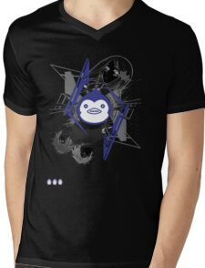 Mawaru PenguinDrum T-shirt Mens V-Neck T-Shirt