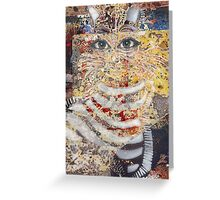 The Enchanted Feline appears Greeting Card