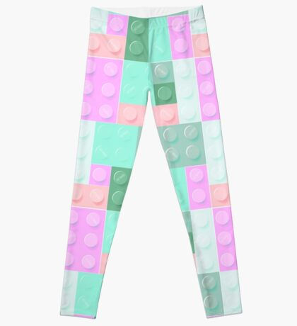 Blockz Pink Green Leggings