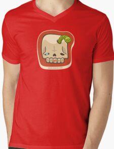 Dead Meat Skullworm Mens V-Neck T-Shirt