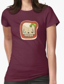 Dead Meat Skullworm Womens Fitted T-Shirt