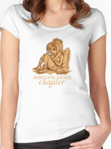 Just one more chapter... Women's Fitted Scoop T-Shirt