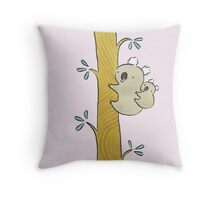 Baby Koala Throw Pillow