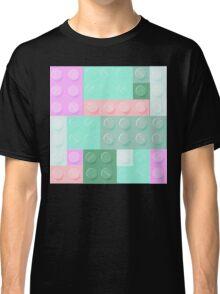 Blockz Pink Green Classic T-Shirt