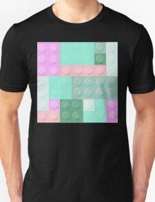 Blockz Pink Green Unisex T-Shirt