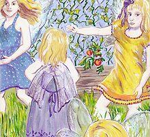 Fairies in the Garden by Wendy Crouch