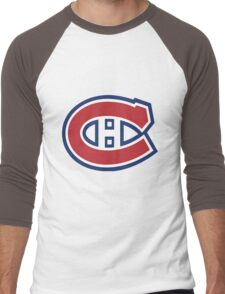 Canadiens Men's Baseball ¾ T-Shirt