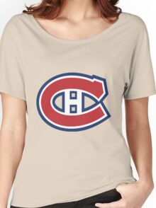 Canadiens Women's Relaxed Fit T-Shirt