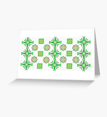 Pretty Celtic Pattern Greeting Card