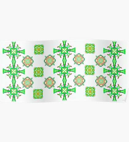 Pretty Celtic Pattern Poster