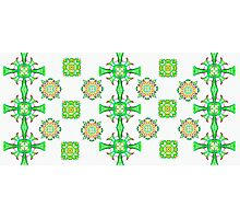 Pretty Celtic Pattern Photographic Print