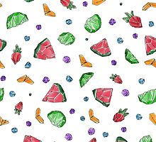 Crystal Fruit Salad - Pattern by maxinefeen