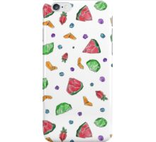 Crystal Fruit Salad - Pattern iPhone Case/Skin