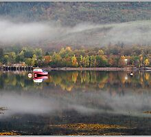Autumn Loch by Derek Dobbie