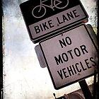 Bike Lane by Jonicool