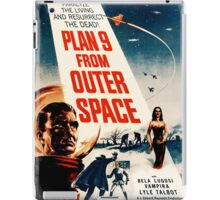 Plan Nine from Outer Space vintage iPad Case/Skin