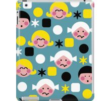 Funny Faces iPad Case/Skin