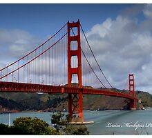 Golden Gate - San Francisco California by crysjan