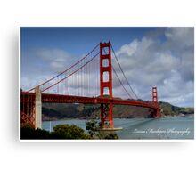 Golden Gate - San Francisco California Canvas Print