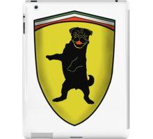 Ferrari Pug iPad Case/Skin